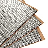 Siless 80 mil 36 sqft Car Sound Deadening mat - Butyl Automotive Sound Deadener - Noise Insulation and Vibration Dampening Material (80 mil 36 sqft)