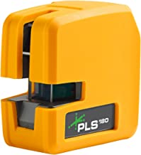 New PLS 180 Green Cross Line Laser Level PLS-60596N by Pacific Laser Systems