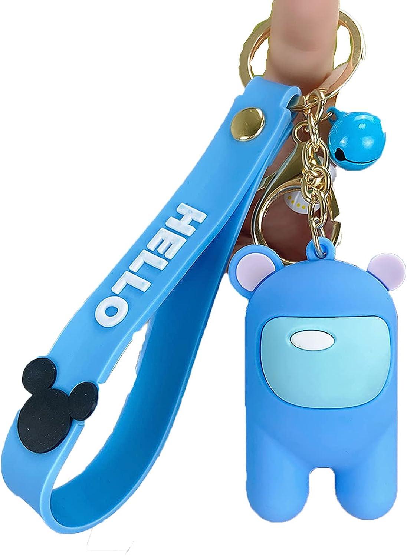 1Pc Among us key chain