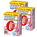 ファイン イオンドリンク ビタミンプラス 砂糖不使用 カロリーゼロ ビタミンC ビタミンB1 ビタミンB6 配合ライチ味 22包入×3個セット