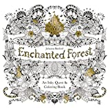 enchanged forest johanna basford Top Coloring Books of 2019
