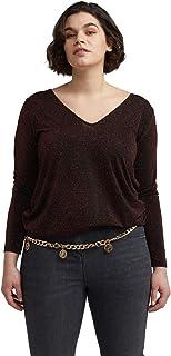 Fiorella Rubino : T-Shirt Lurex Donna (Plus Size)