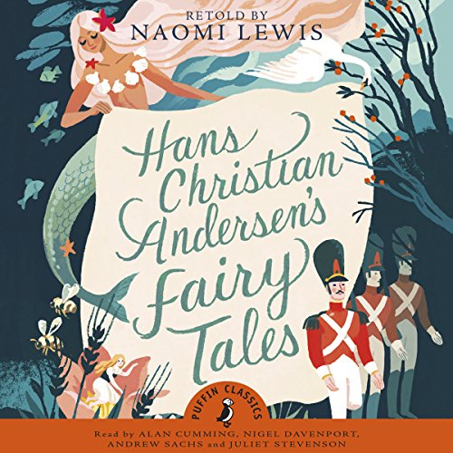 Hans Andersen's Fairy Tales cover art, a collection of fairytale images including a mermaid and 3 soldiers.