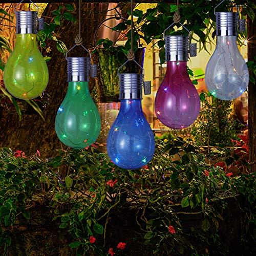 Led-decoratielamp, voor Kerstmis, Nieuwjaar, bruiloft, bar, koffie, zwembad, huis, led-hanglamp met lichtsensor transparant