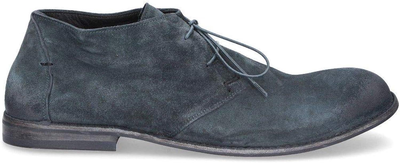 PANTANETTI Luxury Fashion Herren 10401Blau Blau Desert Stiefel   Jahreszeit Permanent