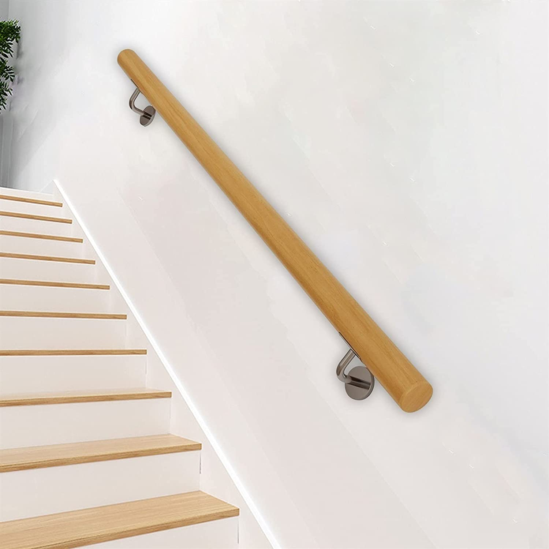 mfw@wewe Popular popular Handrails safety Wooden Handrail Kit ForIndoor handrail Outdoo