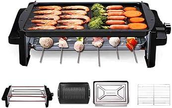 Hogar electric grill horno eléctrico, 1200 Watt Cool Wall Grid