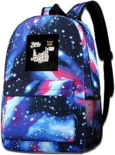 XNTWJMV Galaxy - Bolsa de hombro estampada para hombre y mujer, diseño de estrellas, color azul