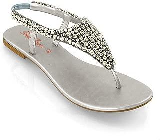 diamante flip flops wedding