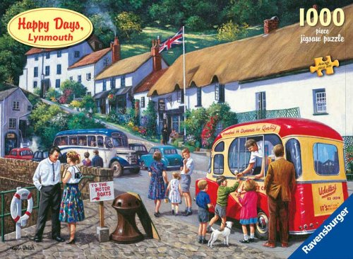 Ravensburger Puzzle Happy Days Lynmouth 1000 Teile