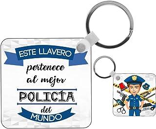 Amazon.es: policia - Llaveros / Accesorios: Equipaje