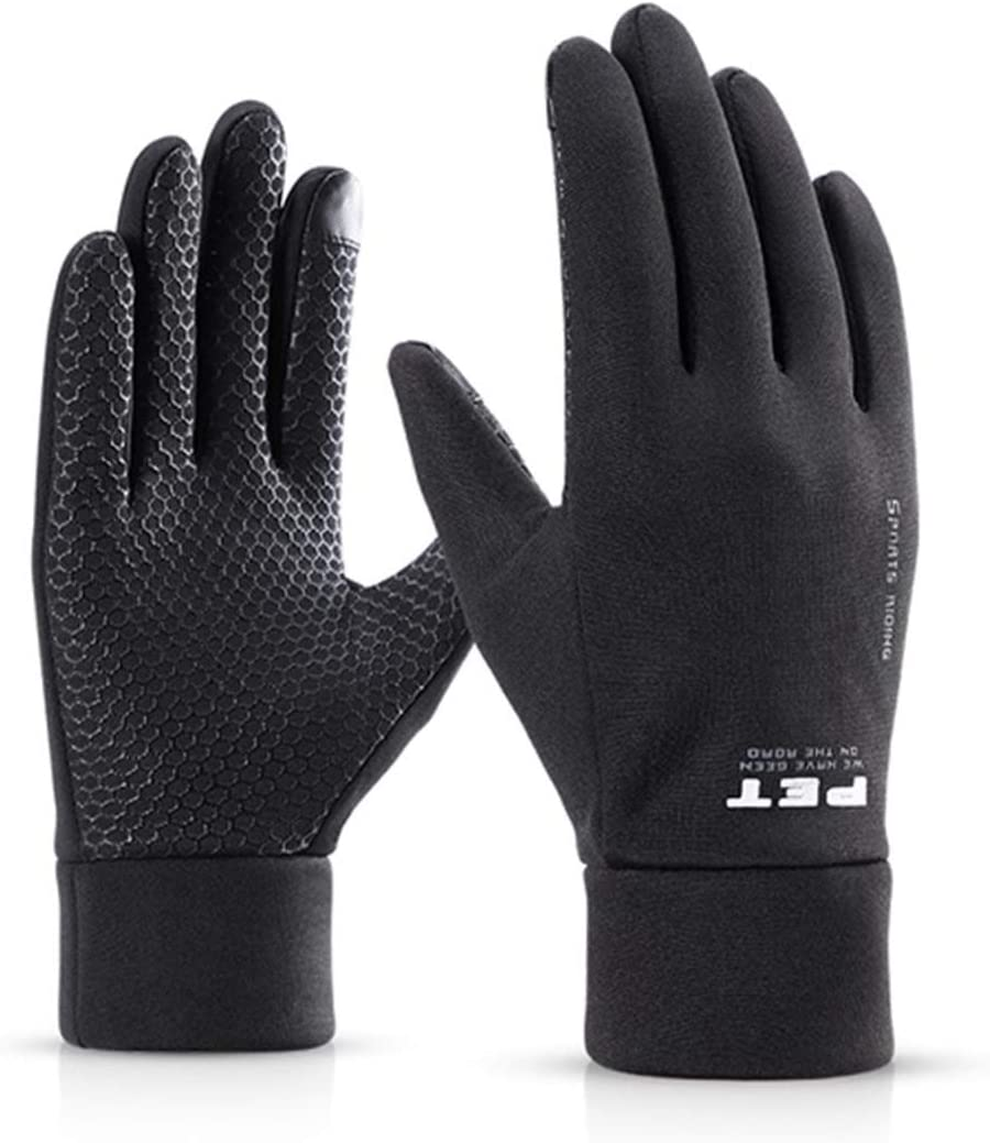 GYZLZZB Single Gear Max 44% OFF Running National uniform free shipping Gloves Lightwe Touch Screen Non-Slip