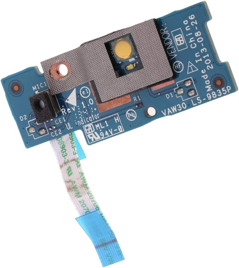 Ranking TOP16 1pc Power Button Board with Flex Replace for Part 4 years warranty Ribbon Cable D