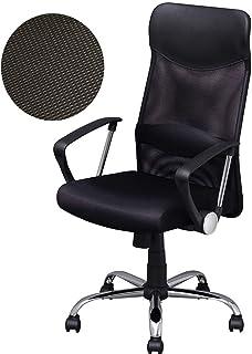 アイリスプラザ オフィスチェア アームレスト 2WAY メッシュ 通気性抜群 組み立て簡単 腰サポートバー ブラック