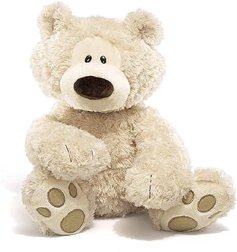 "GUND Philbin Teddy Bear Large Stuffed Animal Plush, Beige, 18"""