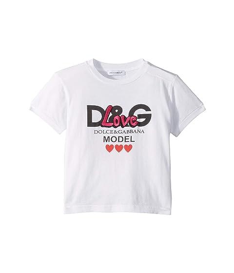 Dolce & Gabbana Kids Model Love T-Shirt (Infant)