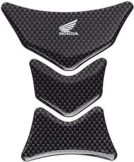 Honda 17-19 CBR1000RR Genuine Accessories 3-Piece Tank Pad - Carbon Fiber