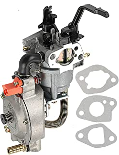 Harbot GX200 Dual Fuel Carburetor LPG NG Conversion Kit 2.8KW GX 200 170F Generator Manual Choke