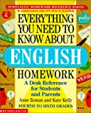 Everything You Need to Know About English Homework (Everything You Need to Know about (Pb))