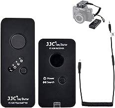 Wireless Shutter Remote JJC Shutter Release Control Fit for Fujifilm X-T20 X-T10 X-Pro2 X-T2 X-T1 X-E2 X-E2S X-E3 X-A1 X-A2 X-A3 X-A10 X-M1 X100F X100T X70 X30 XQ1 XQ2 GFX50S S1 Replaces Fuji RR-90