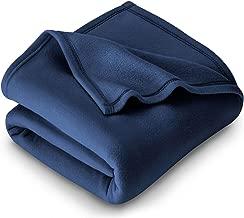 Purav Light Polar Fleece Single Bed AC Blanket 1 Piece - 60x90 Inches, Blue