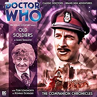 Doctor Who - The Companion Chronicles - Old Soldiers cover art