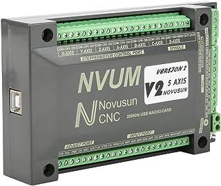 SEDOOM Tarjeta De Placa De Interfaz USB NVUM 5 Axis CNC Controller MACH3, para Motor Paso A Paso