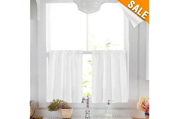 Best Half Window Curtains For Bathroom Amazon Com