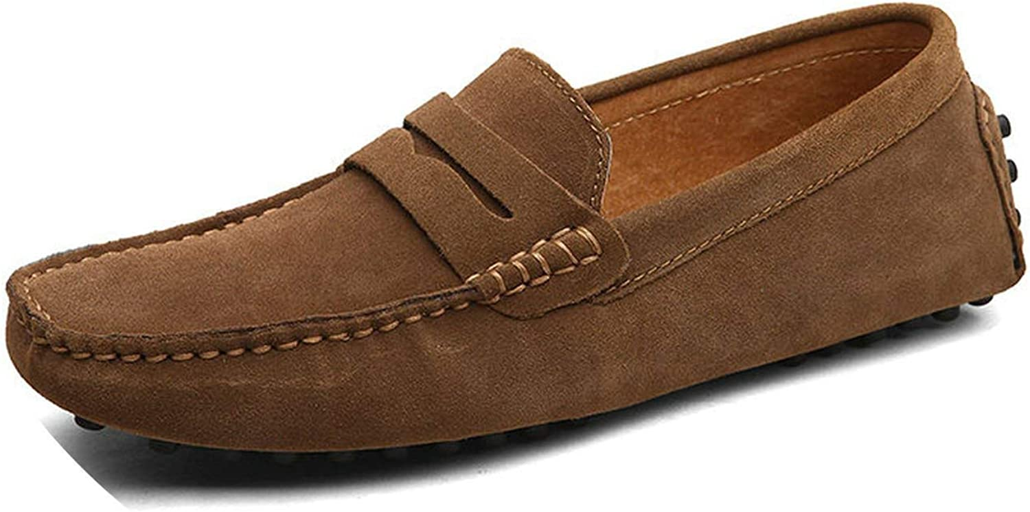 The rest of my life Fashion Summer Style Soft Moccasins Men Loafers Genuine Leather shoes Men Flats Gommino Driving shoes
