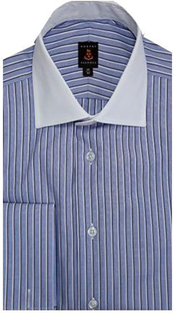 Robert Talbott Blue Monterey French Cuff Dress Shirt