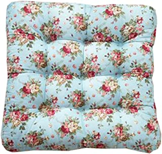 Square Soft Floor Cushions Japanese Style Tatami Pillows(21.6 inches,A13)