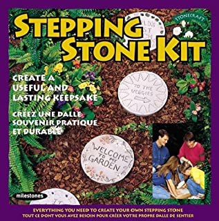 Midwest Products Milestones Stepping, Round Stone Kit