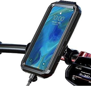 NIUASH Bike Smartphone Stand Smartphone Holder, Bicycle Waterproof Holder, Impact Resistant Motorcycle Holder, Motorcycle ...