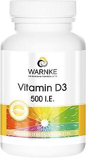 Vitamina D3 500 U.I. – Colecalciferol – 100 cápsulas