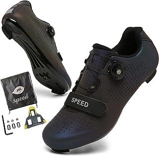 Men Road Bike Shoes Peloton Bike Women Cycling Shoes SPD...