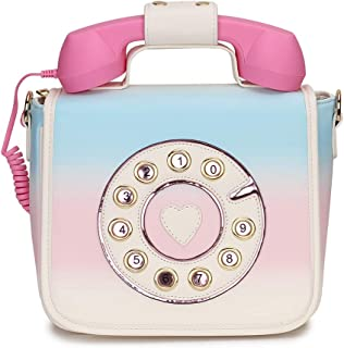 Fashion Telephone Shaped Handbag Shoulder Bag Women Crossbody Bag Girls Purse Women Handbag Daily Totes Bag Messenger Bag