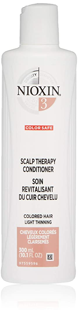 実行規則性崇拝しますナイオキシン Density System 3 Scalp Therapy Conditioner (Colored Hair, Light Thinning, Color Safe) 300ml/10.1oz並行輸入品
