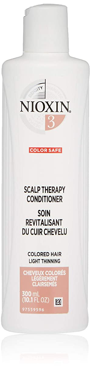 インストラクター苦しめる遅れナイオキシン Density System 3 Scalp Therapy Conditioner (Colored Hair, Light Thinning, Color Safe) 300ml/10.1oz並行輸入品