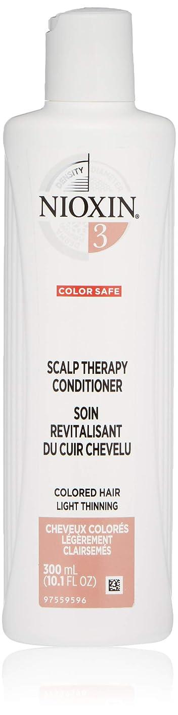 夫婦悲劇吐き出すナイオキシン Density System 3 Scalp Therapy Conditioner (Colored Hair, Light Thinning, Color Safe) 300ml/10.1oz並行輸入品
