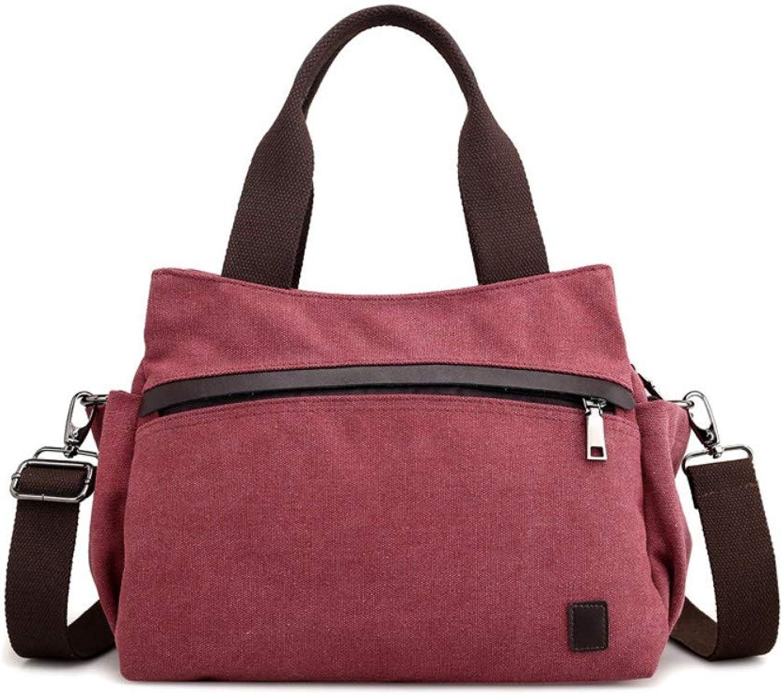 f6e31ded3b70 Bag,Women Retro Canvas Handbag,Messenger Female Fashion Large ...