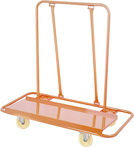 discount Mophorn Drywall Cart 1600LBS Load Capacity Drywall Cart Dolly outlet sale Handling Sheetrock Sheet Panel Service Cart new arrival Heavy Duty Casters outlet online sale