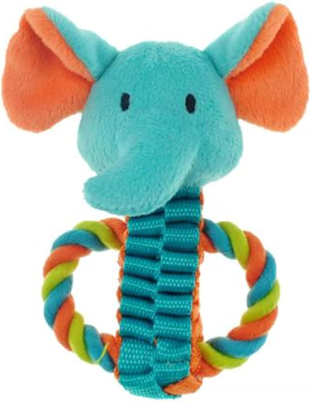 PetEdge Chomper Mini Safari Tug Pals Toy Cash special price 5% OFF Dog - Elephant