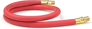 TEKTON 46332 3/8-Inch I.D. by 3-Foot 250 PSI Rubber Lead-In Air Hose with 1/4-Inch MPT Ends