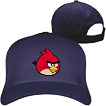 Angry Bird Red Snapback Hats Baseball Peaked Caps