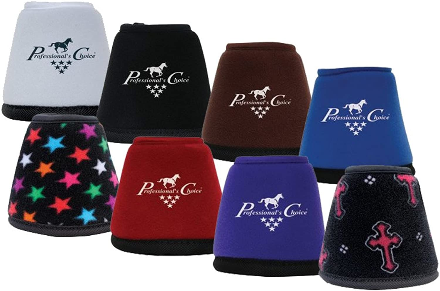 Professionals Choice Equine Quick Wrap Hoof Bell Boot, Pair