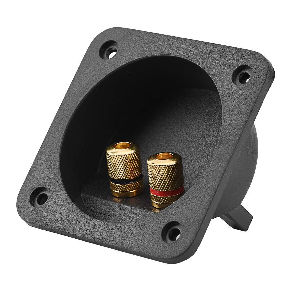 Tihebeyan Altavoces Caja de terminales Shell, DIY Home Car Stereo Speaker Box Terminal Square Spring Cup Conector Componentes: Amazon.es: Electrónica