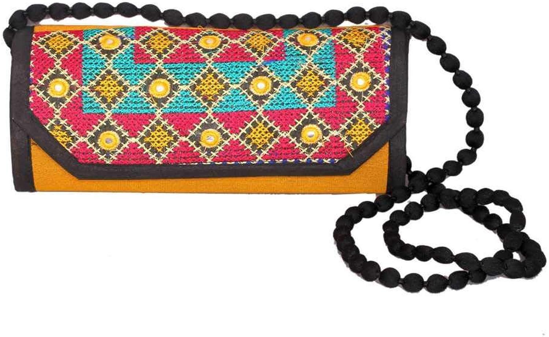 Panchal Creation Wholesale 50 pc lot Bulk Indian Vintage Hand Bag Traditional Bridal Clutch Beaded Shoulder Bag potli Pouch Hand Bag Purses Women Purse by Craft Place M -45