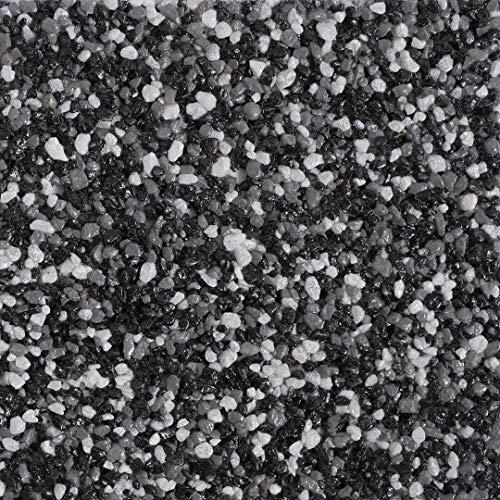 RyFo Colors Buntsteinputz Classic Line 100 schwarz/grau/weiß 25kg - weitere Farbtöne und Größen wählbar, Fertigputz für innen und außen, Sockelputz, Mosaikputz