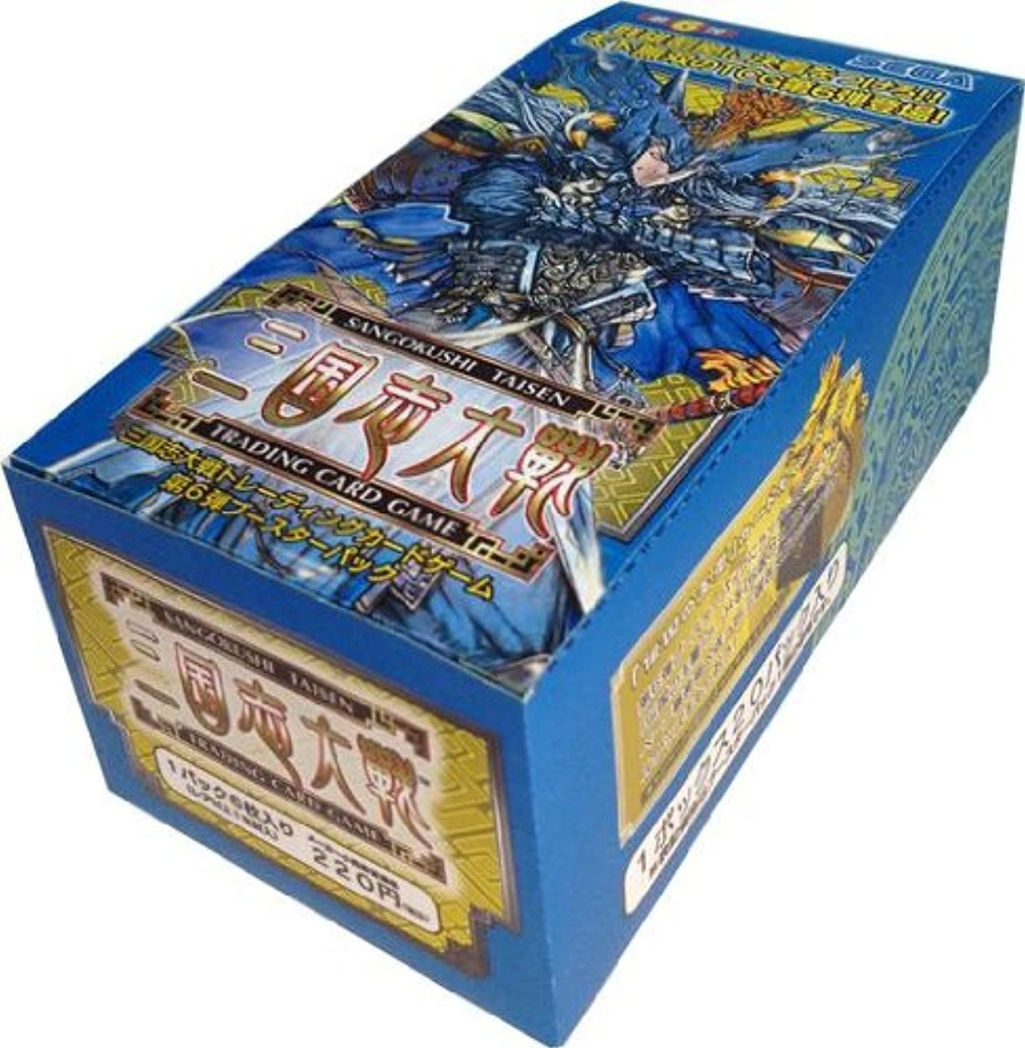 mejor moda Sangokushi Taisen Trading Coched Coched Coched Juego sixth booster pack box (japan import)  calidad de primera clase
