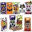 90-Piece Joyin Halloween Plastic Goodie Bags